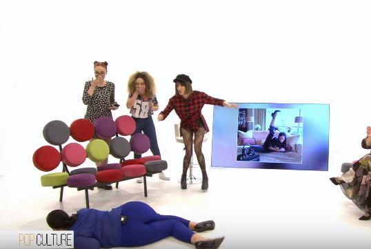 """Moment epik: Moderatorja rrëzohet në mes të emisionit në """"Top Channel"""" (VIDEO)"""