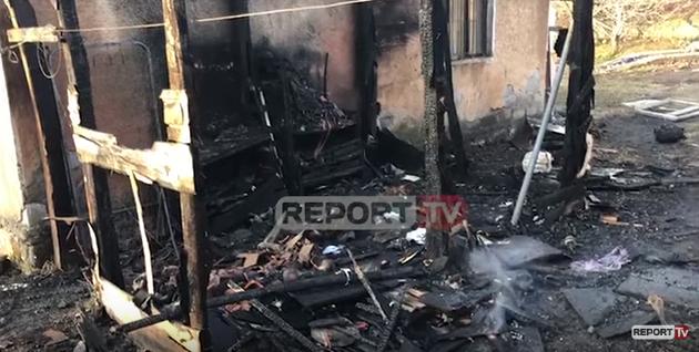 Flasin fqinjët: Si ra zjarri në kasollen ku humbi jetën fëmija 2-vjeçar