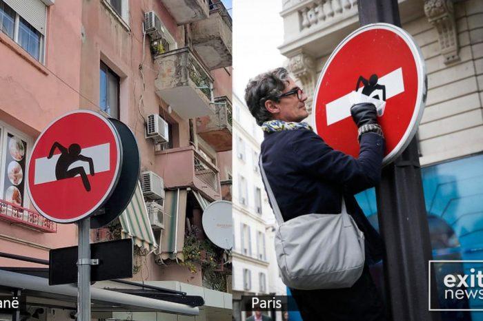Tabelat rrugore në Tiranë, si ato në Firence! Bashkia i kopjon idenë artistit britanik?