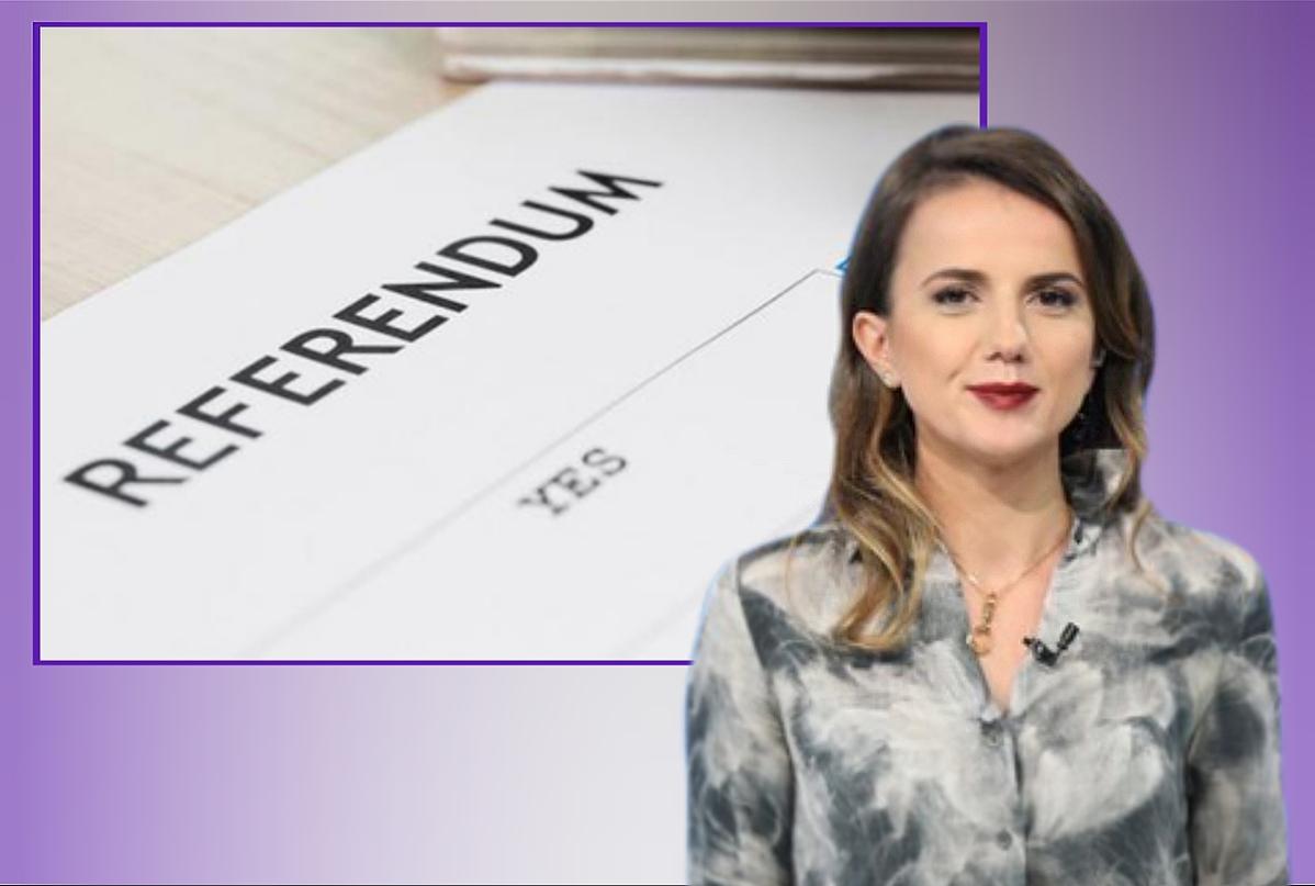Propozimi i ligjit për referendum nga Rudina Hajdari, që do i jepte qytetarit 'pushtetin' e munguar!