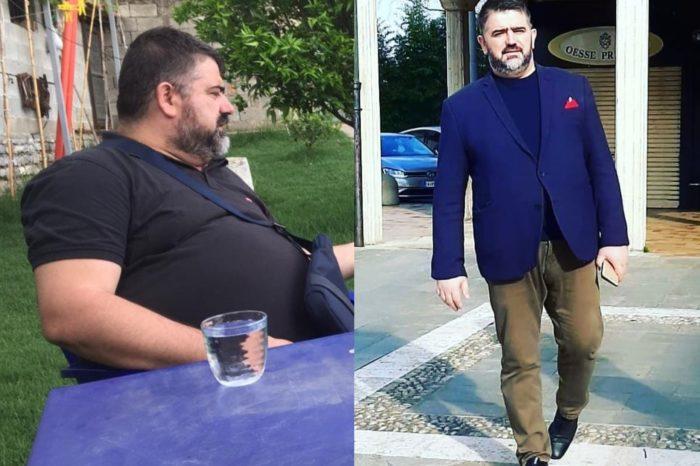 """""""Tani mund të lidh këpucët""""! Si i humbi 42 kg ish-deputeti Eduart Ndocaj!"""
