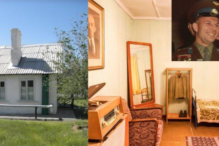 Imazhe unike! Publikohen fotot brenda shtëpisë ku Yuri Gagarin kaloi natën para se të nisej në hapësirë