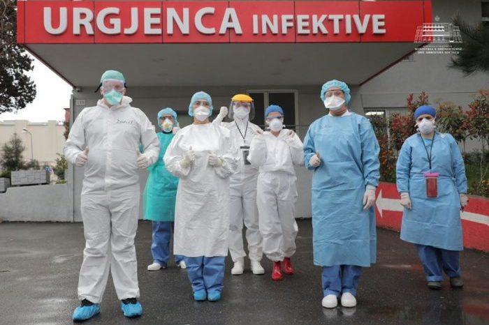 Përditësimi i fundit: Ja sa viktima dhe persona të infektuar ka shënuar Covid-19 brenda 24 orëve në Shqipëri