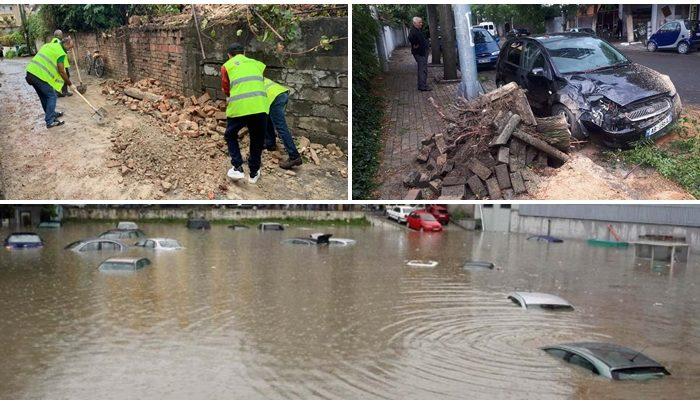 Moti i keq dhe përmbytjet përfshijnë Shqipërinë, Xhaçka: Situata alarmante, jemi në gatishmëri!
