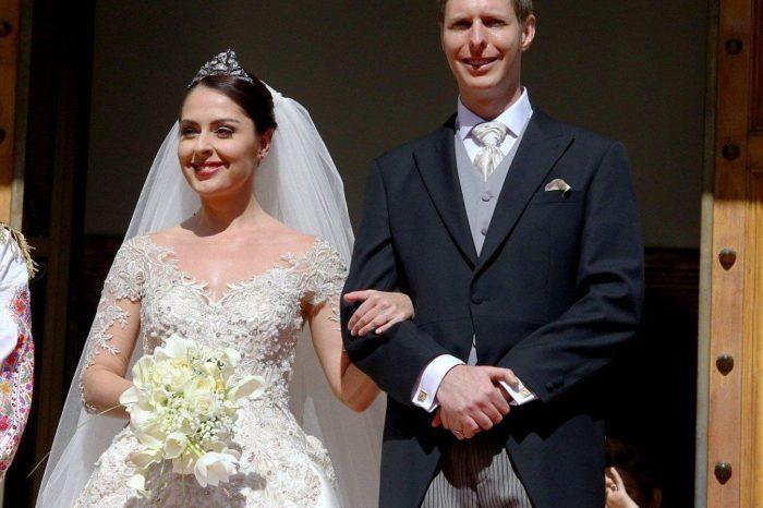 """""""Mirë se erdhe Princesha Geraldinë"""", media britanike shkruan për lindjen e vajzës së Princit Leka dhe Elia Zaharias"""