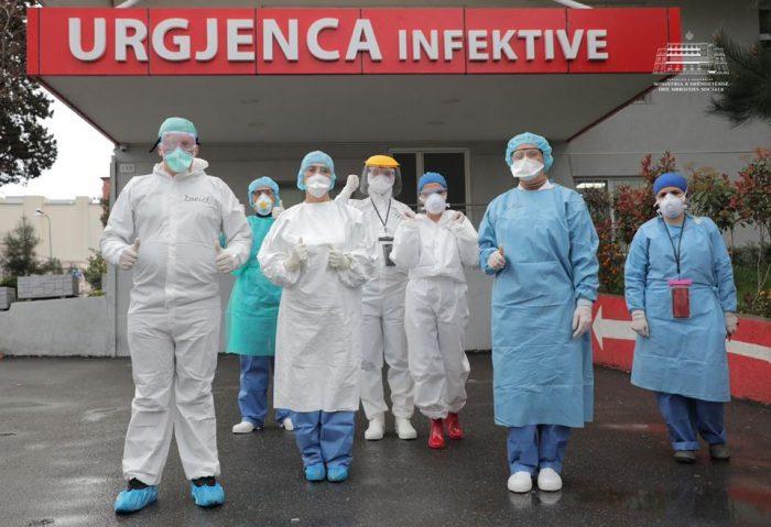 6 jetë të humbura dhe numër i lartë rastesh të reja me COVID-19 brenda 24 orëve në Shqipëri!